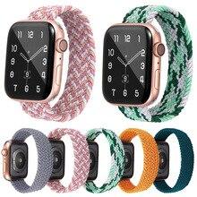 Elastic-Strap Apple Watch 3-Bracelet Band-Series Woven Nylon for Belt Lightweight 44mm