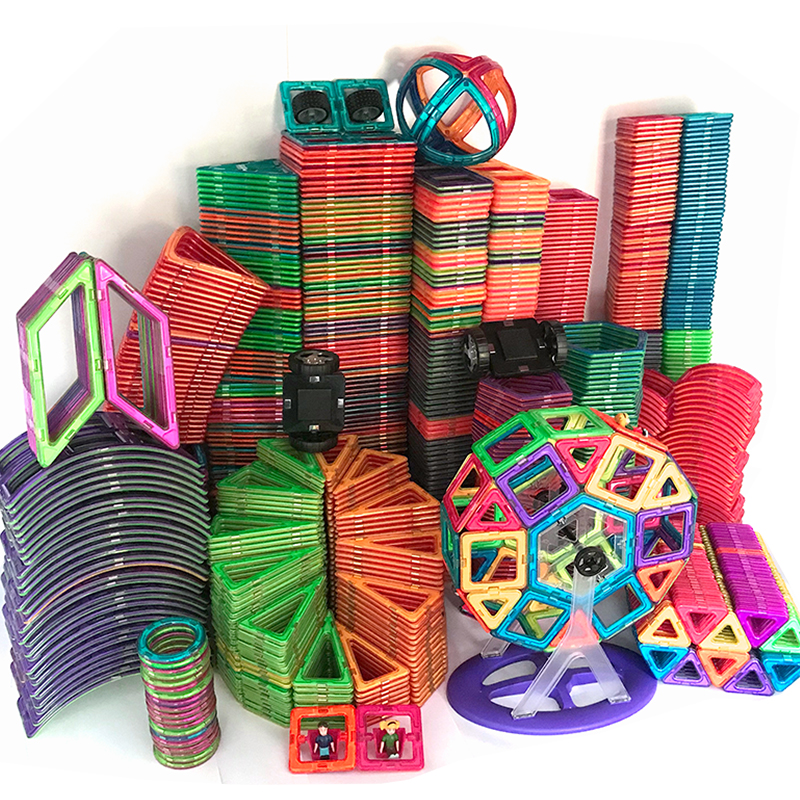1pcs Magnetic DIY building blocks parts construction toys for toddlers Designer magnetic toys Magnet model building toys