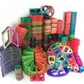 Stücke Magnetische DIY bausteine teile konstruktion spielzeug für kleinkinder Designer magnetische spielzeug Magnet modell gebäude spielzeug