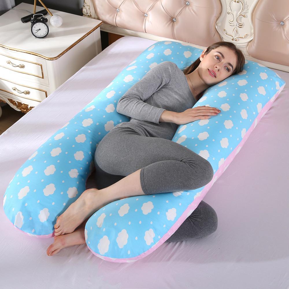 Comfortable U-Shape Pregnancy Pillow Maternity Bedding Full Body Sleeping Support Pillows Cushion Poduszka Ciazowa 70*130CM