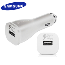 SAMSUNG Galaxy S10 S9 S8 plus Car Charger USB Quick Charge 1 Port USB Fast Charging for Galaxy note 10 plus 10+ 8 9 A50 A70 A30 cheap Car Lighter Slot A C Source ROHS INMETRO WEEE SASO nemko Samsung Car Charger Fast Charge Samsung Adaptive Fast Charge 100-240V 0 6A