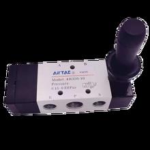 Manual valve hand slide valve 4h210-08 two position five way directional valve h4310-10 handle control 4mm 6mm 10mm hose joint