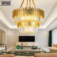 Modern Led Crystal Chandelier lighting for Living Room Bedroom Dining Room Gold Crystal Ceiling Chandelier k9 lights led E14 modern crystal chandeliers for dining room gold crystal chandelier pendants crystal light fixtures ceiling chandelier lighting