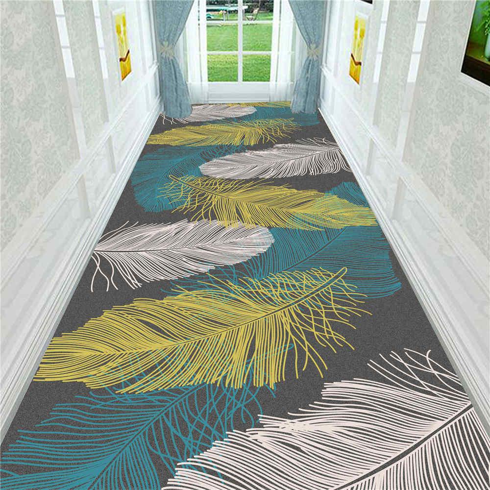 Simple Style Home Decorative Corridor Carpet Indoor Entrance Doormat Bedroom Bathroom Kitchen Floor Mat Rug Living Room Area Rug