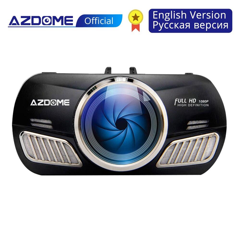 Azdome m11 traço cam 3 polegada 2.5d ips tela do carro dvr gravador de vídeo hd 1080 p visão noturna dashcam traço câmera gps