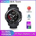 Смарт-часы HONOR Watch GS Pro, часы мужские,25 дней автономной работы, GPS, более 100 режимов тренировки, разработаны специально для любителей авантюрис...