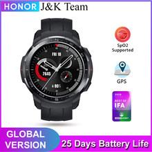 HONOR Watch GS Pro SmartWatch, relogio inteligente smart watch, vida útil da bateria de 25 dias, gps embutido, 100 + modos de treino,