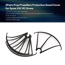 2Pairs Propeller Blade Prop Protection Cover Propellers Protective Guard Protector Spare Parts for Syma X5C RC Drone syma x8sw d