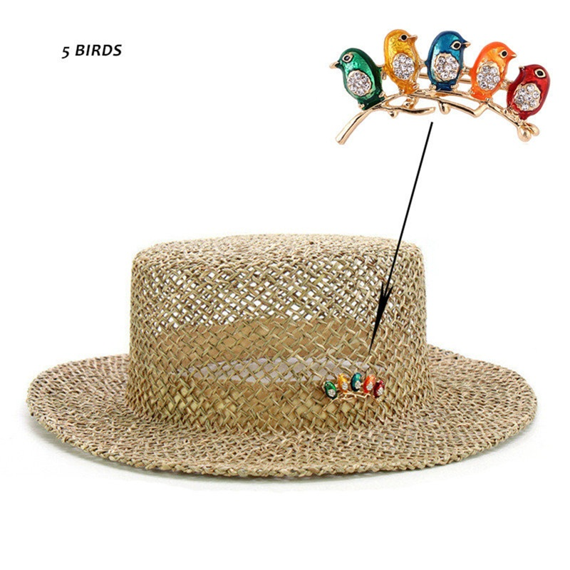 Sun Hat Straw Paper Floppy Hat Leave a Message