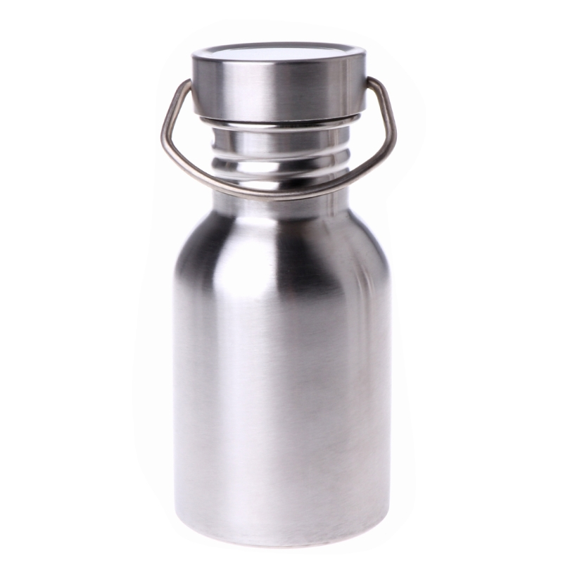 Cycling Stainless Steel Water Bottle Camping Bicycle Outdoor Sports Travel Tools Bicycle Water Bottle     - title=
