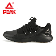 PEAK Men Running Shoes Lightweight Comfortable Durable Sports Shoes Autumn Winter Outdoor Fitness Jogging Sneakers все цены