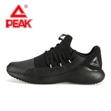 PEAK Men Running Shoes Lightweight Comfortable Durable Sport