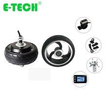 E-TECH BLDC 28 км/ч 24V/36V 250W 4 inch Электрический мотор для центрального движения колеса с аксессуарами