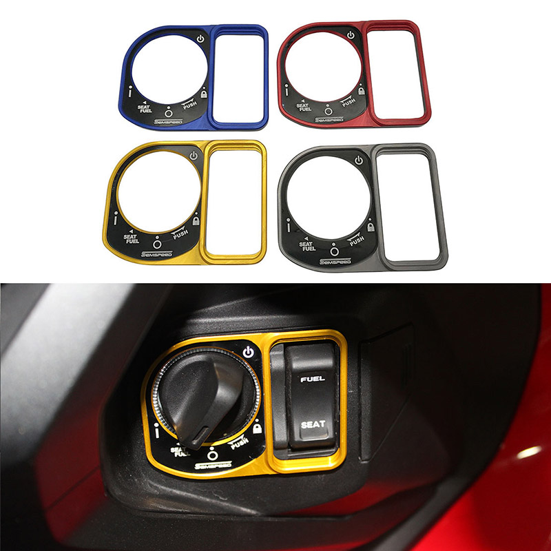 For Honda Click 125 150 2019 2020 Semspeed Motorcycle Switch Electric Door Button Lock Cover Guard Protector image