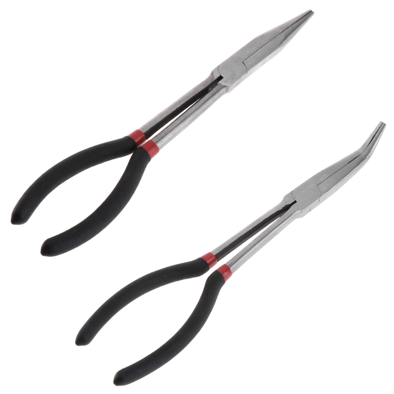 Fishing Pliers Curve Straight Long Handle Carbon Steel Gripper Multifunctional Whosale&Dropship