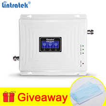 Lintratek Signal Booster 2G 3G 4G GSM Repeater 900 1800 2100MHz Triband Mobile Phone Amplifier 2G 3G 4G LTE UMTS Band 1 Band 3 - DISCOUNT ITEM  37% OFF Cellphones & Telecommunications