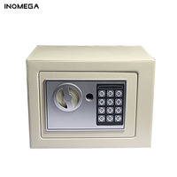 Home Electronic Safe Box With Digital Keypad Lock Mini Lockable Jewelry Storage Case Safe Money Cash Storage Box