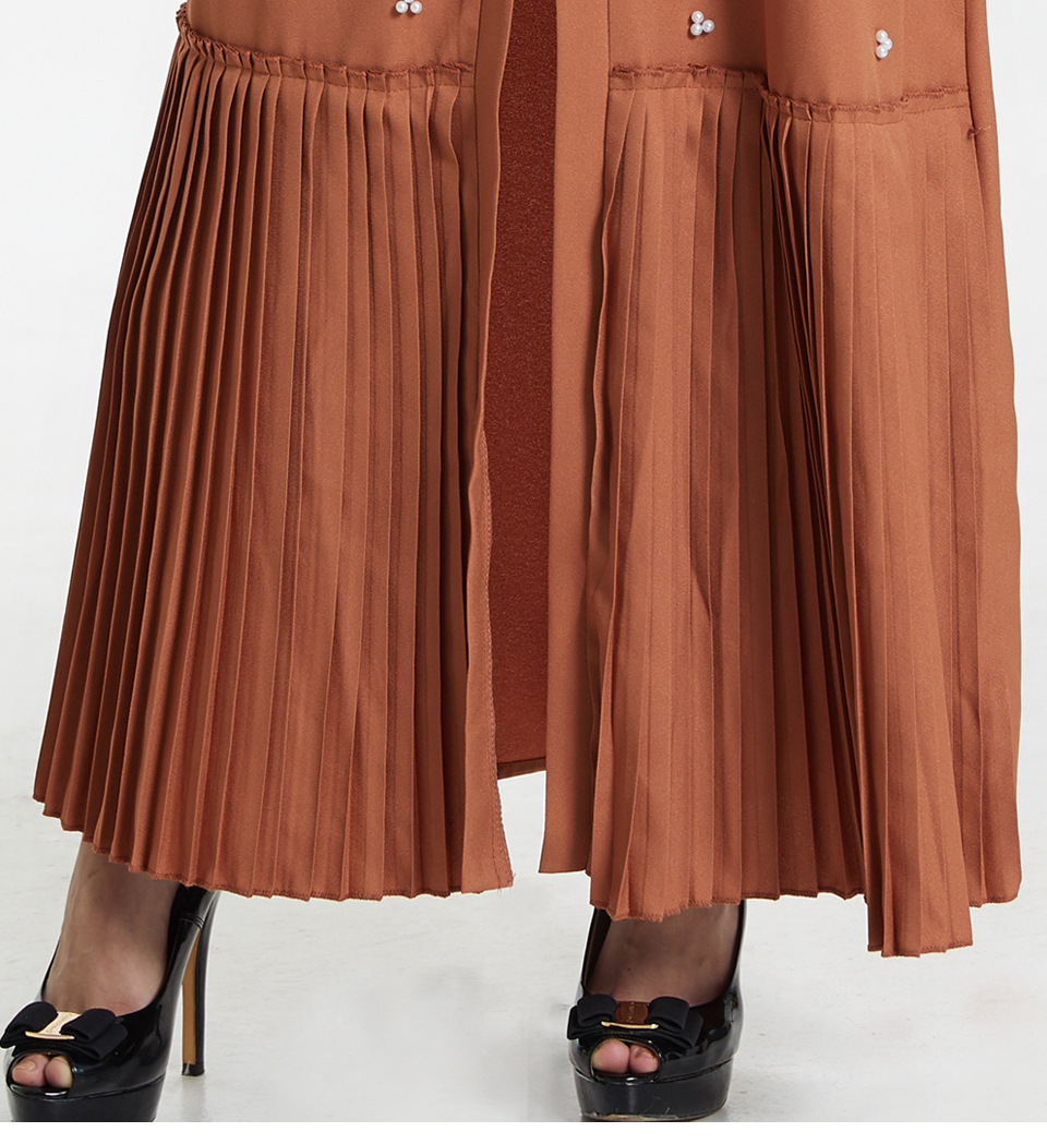 abaya dubai hijab vestidos sl1754