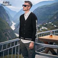 Enjeolon 2019 Men New Autumn Brand Casual Cotton Sweater Cardigan Men Winter Fashion Knitwear Outwear Warm Sweater MY3452