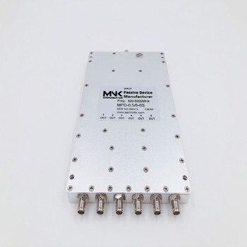 Головка SMA 500-6000 м микрополоса шесть разделителей мощности WiFi шесть делителей мощности 0,5-6 г шесть разделителей цепи