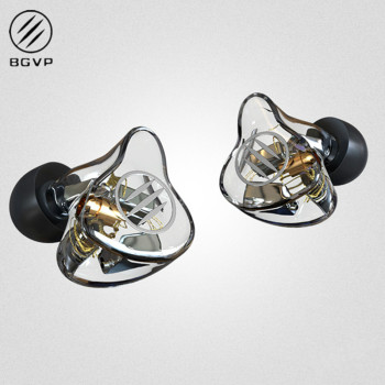 BGVP DM7 6 Balanced  In-Ear Earphone Metal High Fidelity Monitor With Detachable MMCX Cable DMG DM6 DMS AS16 AS12 T2 DS3