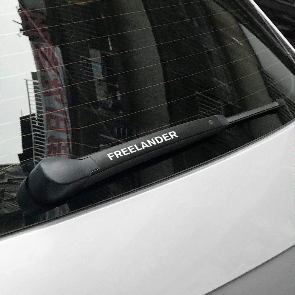 Image 5 - 4PCS Car Stickers Window Wiper PVC Decals For Land Rover Discovery 3 4 2 Freelander Evoque Velar Supercharged Autogiography SVR-in Car Stickers from Automobiles & Motorcycles