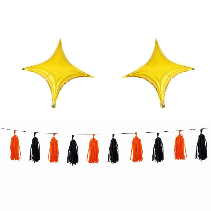 1 комплект Хэллоуин Тыква призрак шары Хэллоуин украшения из фольги игрушки из надувных шаров летучая мышь воздушный шар вечерние принадлежности для Хэллоуина