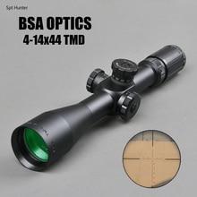цена на BSA OPTICS 4-14X44 TMD Hunting Riflescope First Focal Plane Glass Reticle Tactical Rifle Scope Side Parallax Rifle Scope Air Gun