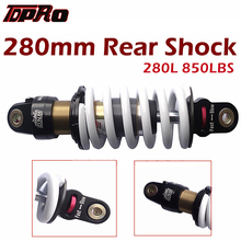 TDPRO 280mm 850lbs DNM Motorcycle Rear Shock Absorber Suspension New MK-AR For 110cc 125cc 150cc Go Kart Quad ATV Pit Dirt Bike