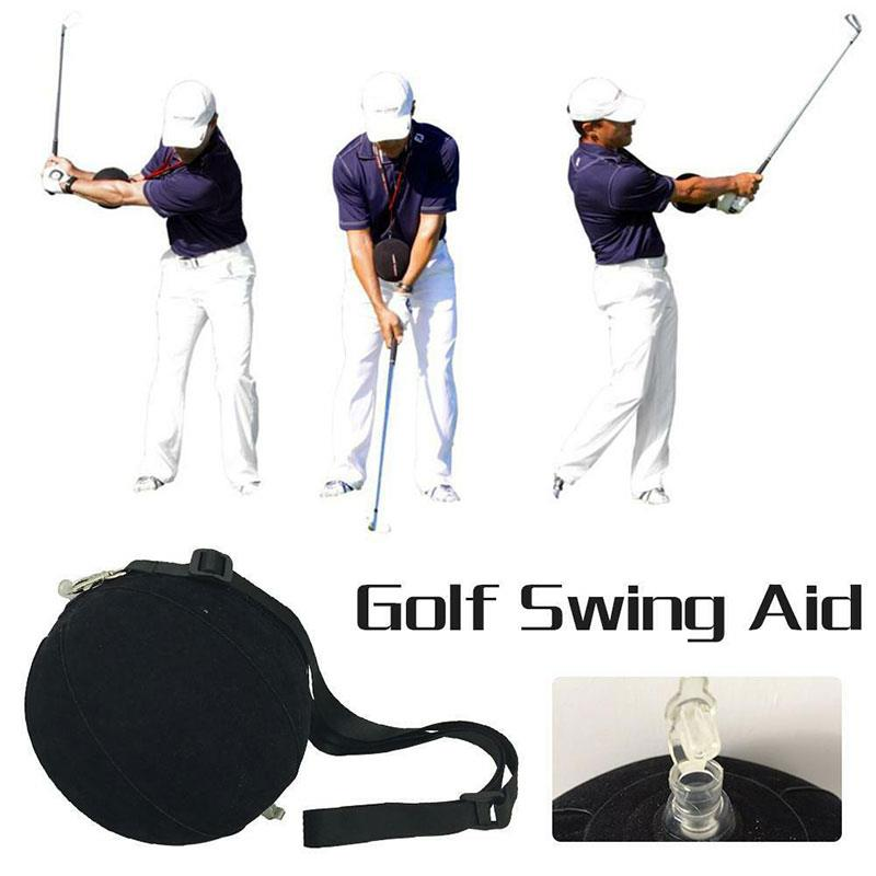 Strong Trainging Aids Swing Practice Stick Golf Posture Correction Golf Training Outdoor 15cm Black Golf Swing Assistant