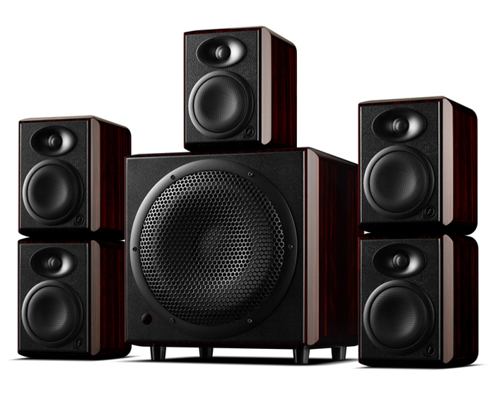 Monitor Speakers Active Subwoofer Hivi Swans Theater-System Home HIFI 5 H10-10inch Vented