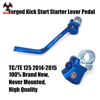 Motorcycle Forged Alloy Kick Start Lever Pedal For Husqvarna TC125 TE125 TC TE 125 2014 2015 14 15