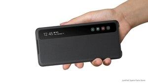 Image 3 - سامسونج الأصلي غطاء الهاتف العمودي مرآة الوجه غطاء EF ZG980 لسامسونج غالاكسي S20 S20Plus S20 الترا S20 + 5G S عرض غطاء