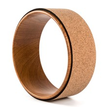 Wooden Yoga Circles Soft Wood Made Professional Pilates Yoga Wheel for Body Building Abs Workout Gym Home Training Tool(China)