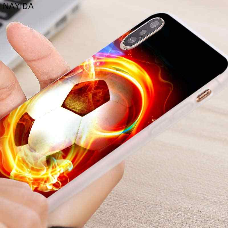 Telefon fall für Huawei Ehre 9 8X 10 20 lite 20i 9a Max Xohop 8a 30 20Pro V30 PLAY3 abdeckung weichen Fällen Sport Fußball Fußball