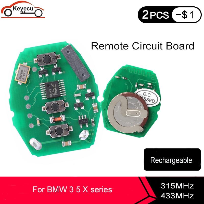 KEYECU перезаряжаемая плата дистанционного управления 315 МГц 433,92 МГц для BMW 3 5 X series 7S E38 E39 E46 3 кнопки с батареей ML2020|bmw key 433|board boardboard circuit | АлиЭкспресс