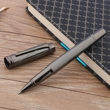 luxury High quality Gun gray standard classic elegante signature RollerBall Pen switzerland ink pens Business Office supplies