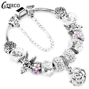 CUTEECO 925 Fashion Silver Cha