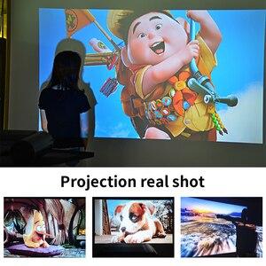 Image 2 - CRENOVA 2019 הכי חדש HD 720P וידאו מקרן עבור 1080P אלחוטי WiFi רב מסך מיני מקרן 3D VGA AV HDMI Proyector