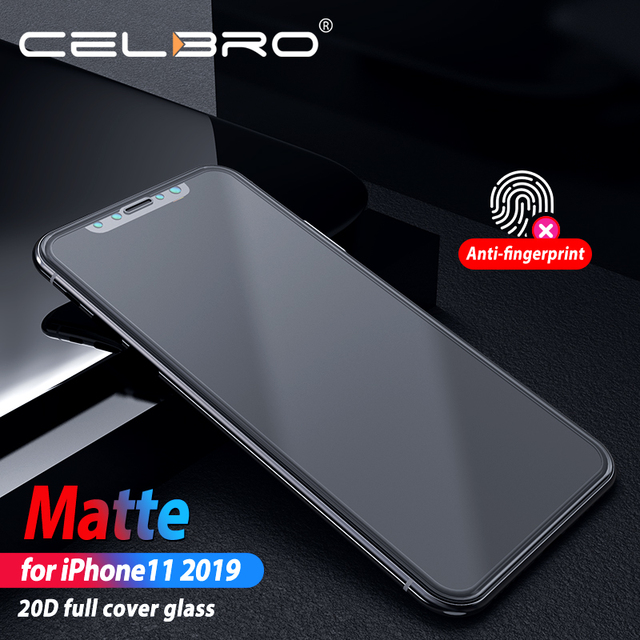 Cubierta completa película de vidrio esmerilado para Iphone 11 Iphone11 Pro Max vidrio protector mate para Iphone11 Pro Xi xs Xr X