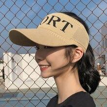Женская вязаная солнцезащитная кепка k32 уличная бейсбольная