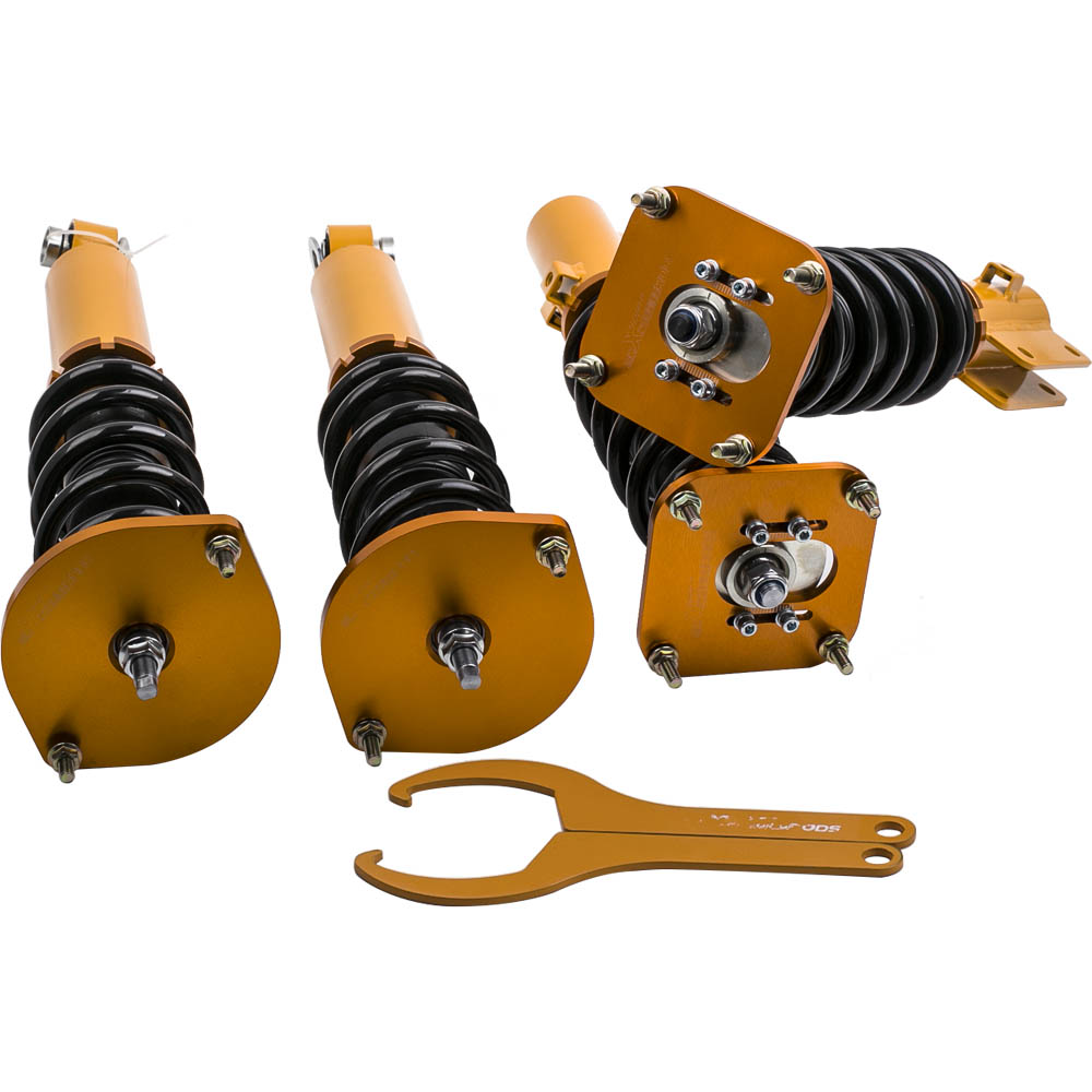 4PCS Coilovers Suspension Struts for <font><b>Mazda</b></font> Savanna <font><b>RX7</b></font> 1.3L R2 GAS FC3S 86-91 Coilover Spring Absorber image