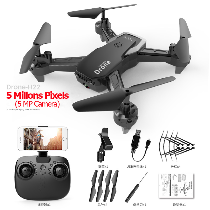 RC FPV WiFi Drone With 4K Wide-angle WiFi HD Camera Altitude Hold 1080P RC Mini Quadcopter Helicopter VS LF606 E58 M69 F11
