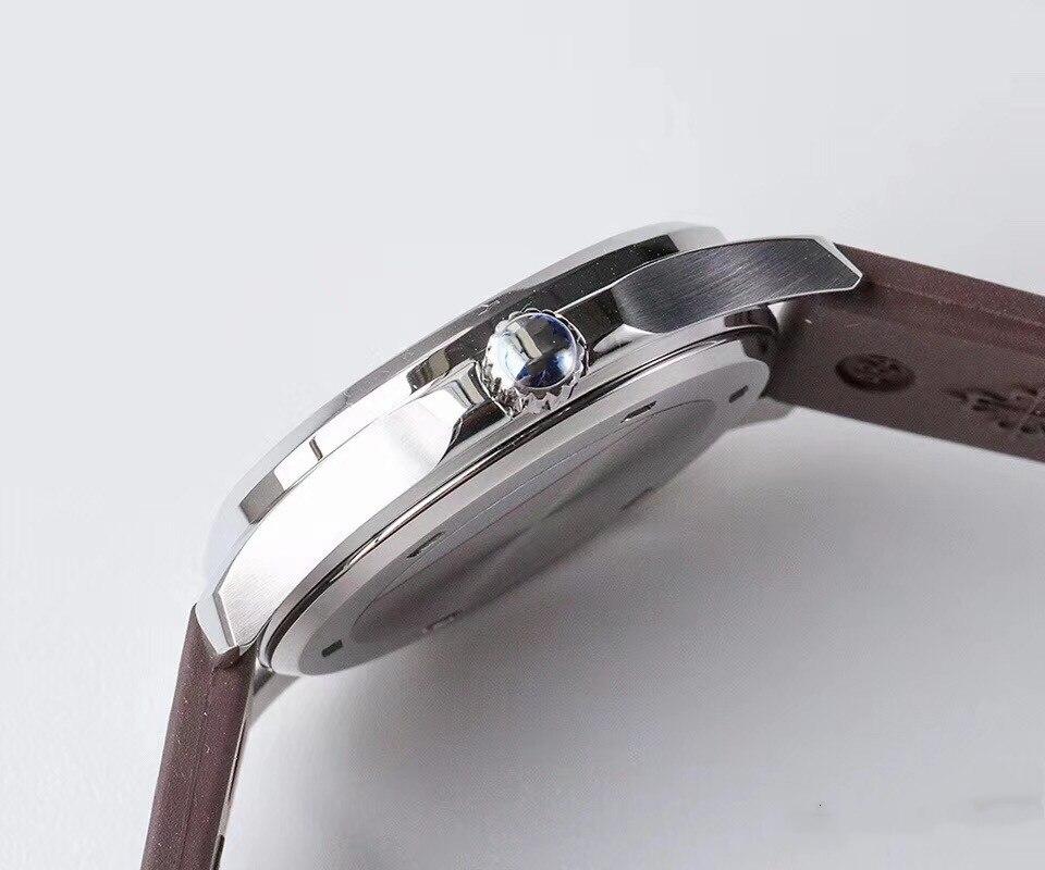 5067a-023 marrom escuro alta imitação automática mecânica