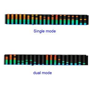Image 5 - Analyseur daffichage de spectre de musique de LED coloré 20 Segments 10 niveaux amplificateur de PC MP3 indicateur de niveau Audio musique