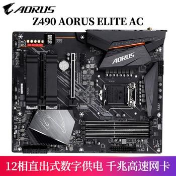 Gigabyte Z490 AORUS ELITE AC  WIFI motherboard+I7-10700K/I9-10900K CPU motherboard+CPU set