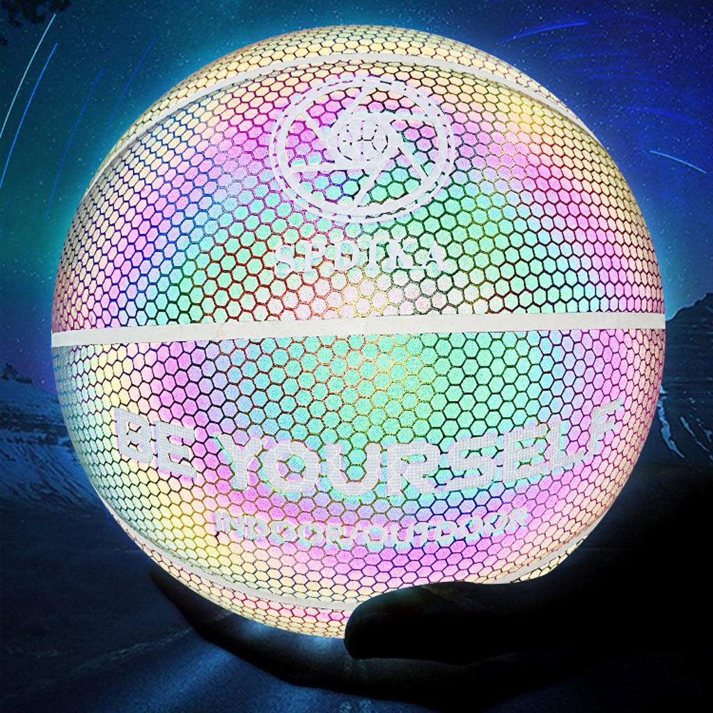 reflexivo basketball bateria-livre acender o brilho de