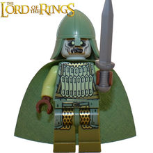 The soldier of the dead The Lord of the Rings mini figures Grima Aragorn Boromir minifig DIY Building Blocks Kids Xmas Toy(China)