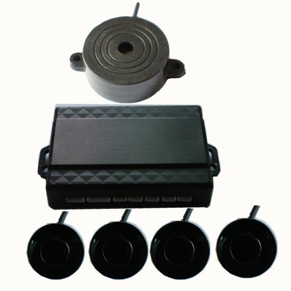 DC12V czujnik parkowania samochodu alarm dźwiękowy BIBI sygnał dźwiękowy sonda wskaźnikowa do tyłu tylna Monitor wykrywacz radarów zestaw do organizacji