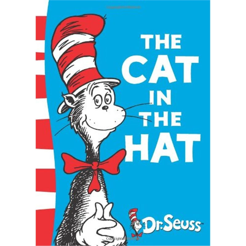 THE CAT IN THE HAT By Dr Seuss Cchildren Books Baby Learning Usa English  Story Book For Kids Educational Toys